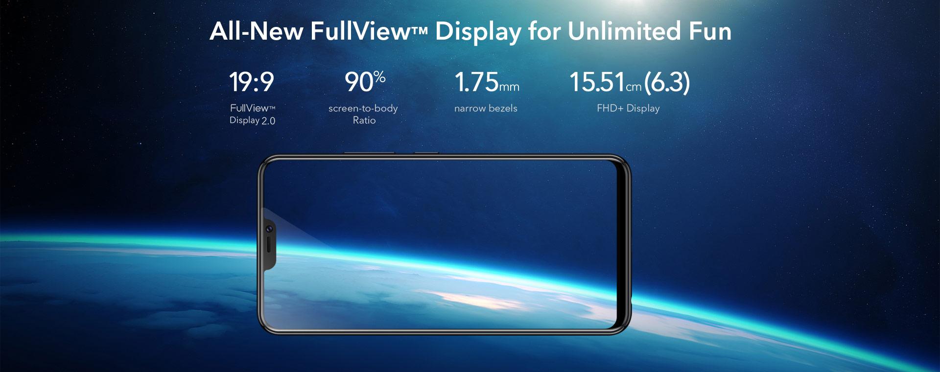 VIVO V9屏幕