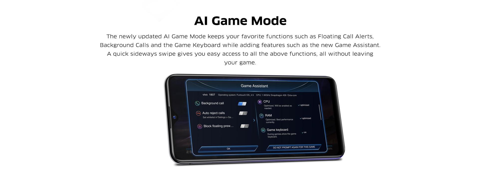 Vivo Best Gaming Mobile Phone 2018