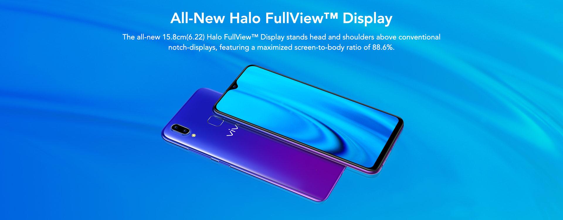Vivo Y93 6.22 Halo Display Smartphone 2018